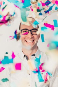 Adam Booth confetti too small